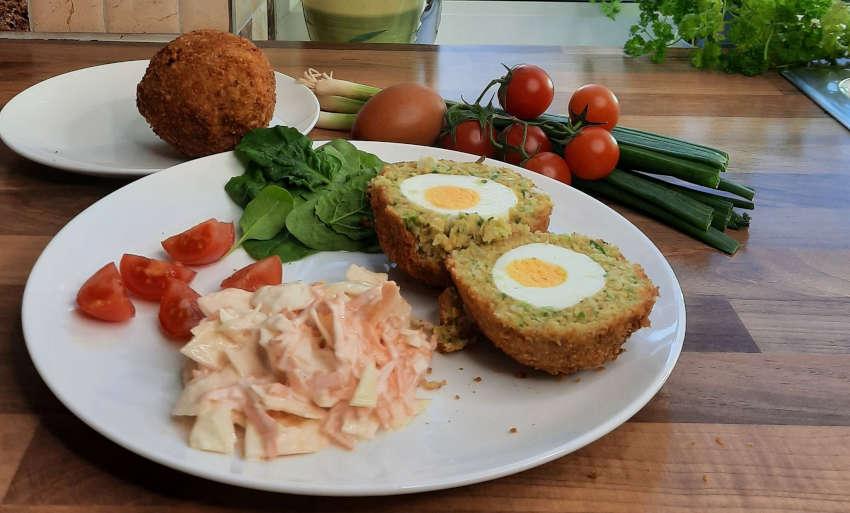 How to Make Vegetarian Scotch Eggs