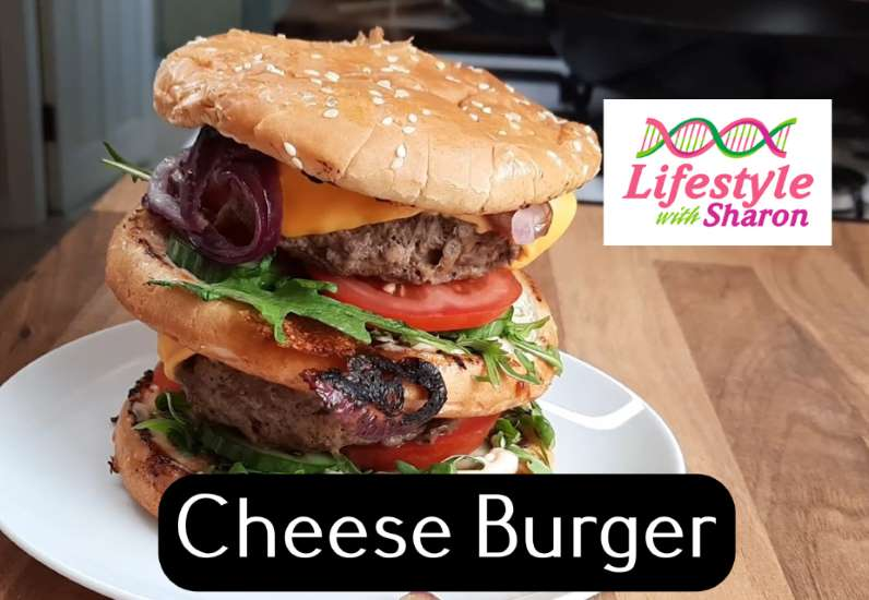 how to make a cheese burger