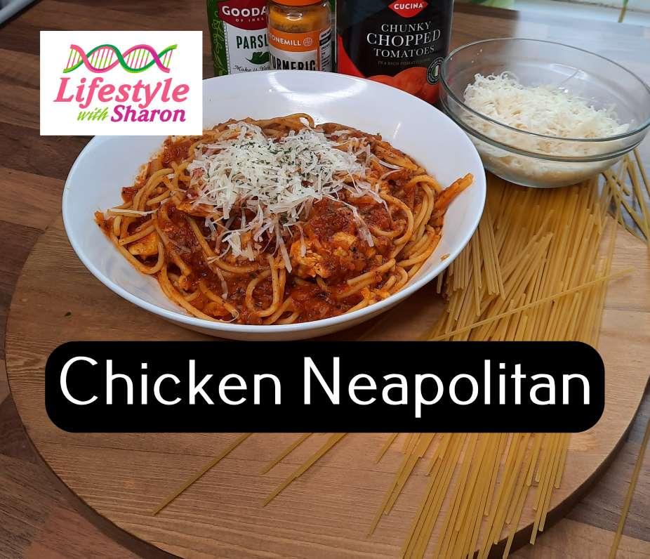 Recipe Blog - Chicken Neapolitan - lifestyle with sharon