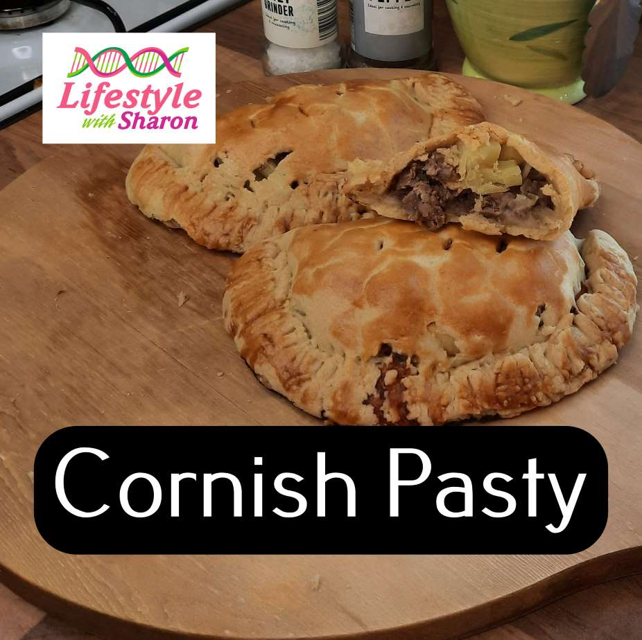 How to make a traditional cornish pasty - lifestyle with sharon