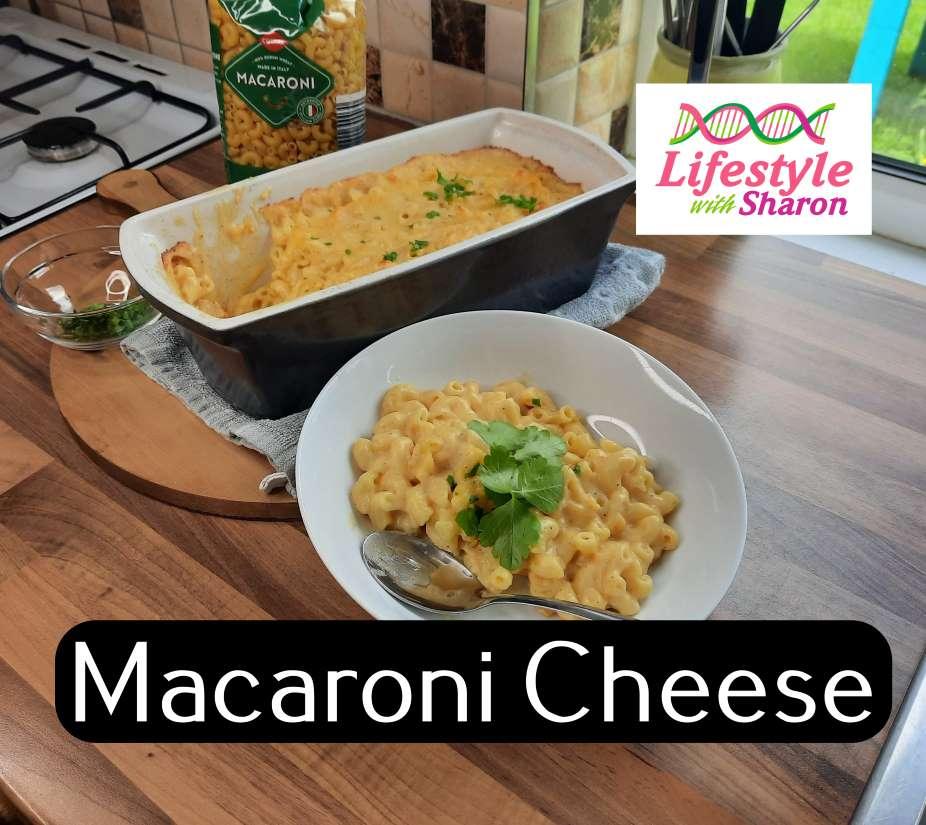 Macaroni Cheese Recipe - lifestyle with sharon