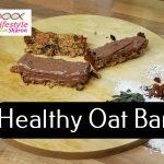 Healthy Oat Bar Recipe - lifestyle with sharon