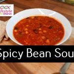 Spicy Bean Soup recipe - lifestyle with sharon